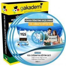YGS Coğrafya Görüntülü Eğitim Seti 18 DVD