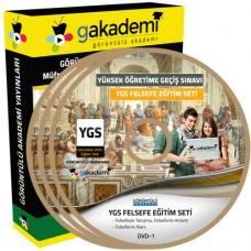 YGS Felsefe Görüntülü Eğitim Seti 11 DVD