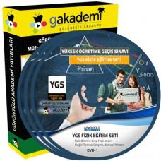 YGS Fizik Görüntülü Eğitim Seti 13 DVD