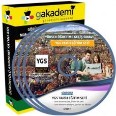 YGS Tarih Görüntülü Eğitim Seti 22 DVD