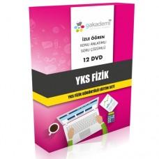 YKS Fizik Görüntülü Eğitim Seti 12 DVD