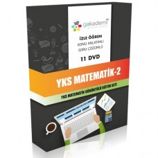 YKS Matematik 2 Görüntülü Eğitim Seti 11 DVD