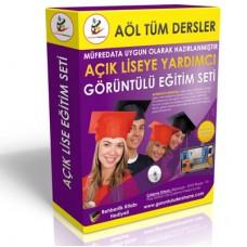 Açıklise Tüm Dersler Görüntülü Eğitim Seti 76 DVD + Çıkmış Soru Bankası Kitabı