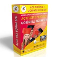 Açık Lise İngilizce 1 Eğitim Seti + Rehberlik Kitabı