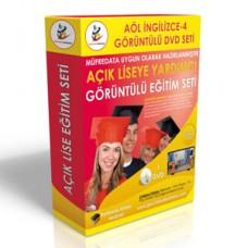 Açık Lise İngilizce 4 Eğitim Seti + Rehberlik Kitabı