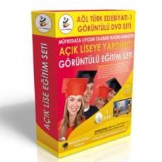 Açık Lise Türk Edebiyatı Eğitim Seti