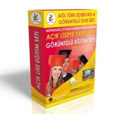 Açık Lise Türk Edebiyatı 4 Eğitim Seti