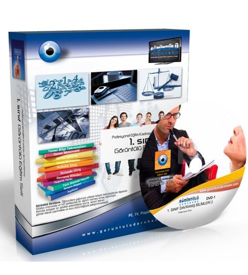 AÖF Davranış Bilimleri 2 Çözümlü Soru Bankası 6 DVD