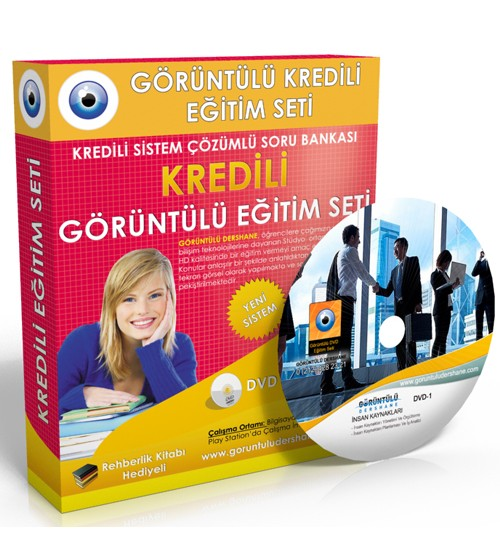 AÖF İnsan Kaynakları Yönetimi Çözümlü Soru Bankası 5 DVD