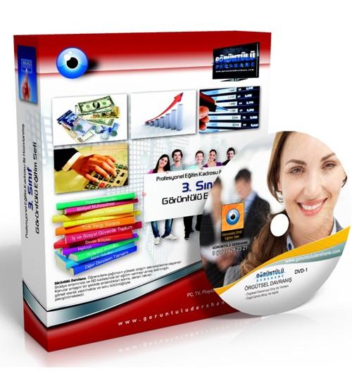 AÖF Örgütsel Davranış Çözümlü Soru Bankası 5 DVD
