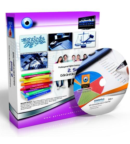 AÖF Muhasebe Bilgi Yönetimi Çözümlü Soru Bankası 5 DVD