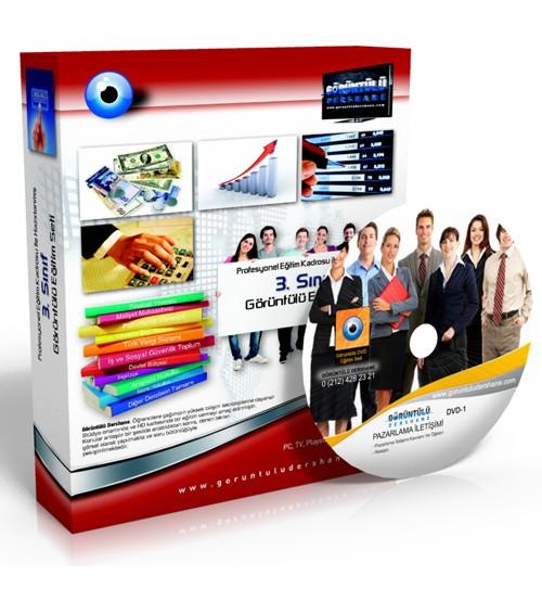 AÖF Pazarlama İletişimi Çözümlü Soru Bankası 5 DVD