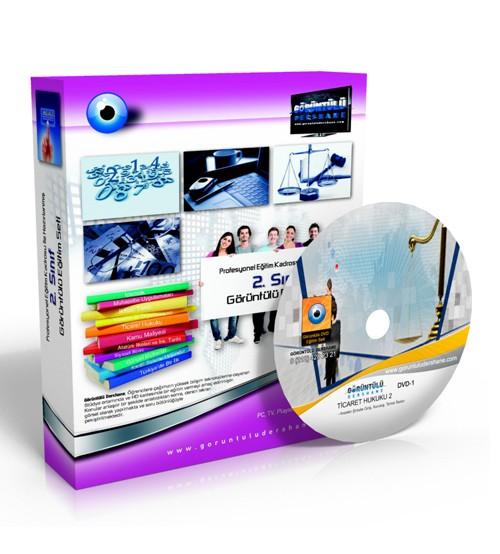 AÖF Ticaret Hukuku 2 Çözümlü Soru Bankası 7 DVD