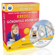 AÖF Denetim Çözümlü Soru Bankası 9 DVD