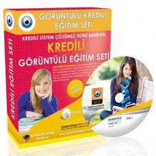 AÖF Türk Dili 1 Çözümlü Soru Bankası 6 DVD