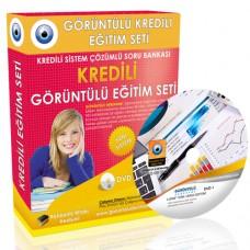 AÖF Türk Vergi Sistemi Çözümlü Soru Bankası 10 DVD