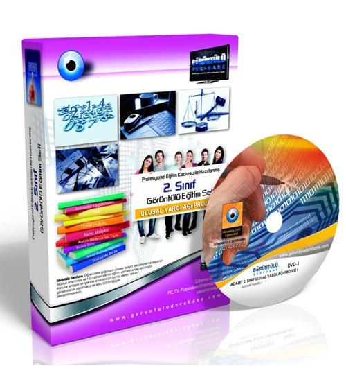 AÖF Adalet Önlisans Bölümü Ulusal Yargı Ağı Projesi I Eğitim Seti 10 DVD