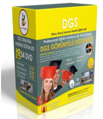 DGS Görüntülü Eğitim Seti  + Rehberlik Kitabı...