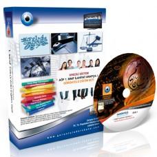 AÖF İlahiyat Arapça 1 Görüntülü Eğitim Seti 12 DVD