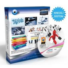 AÖF Genel İşletme-1 Görüntülü Eğitim Seti 13 DVD + Rehberlik Kitabı