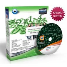 AÖF Matematik-1 Görüntülü Eğitim Seti 10 DVD + Rehberlik Kitabı