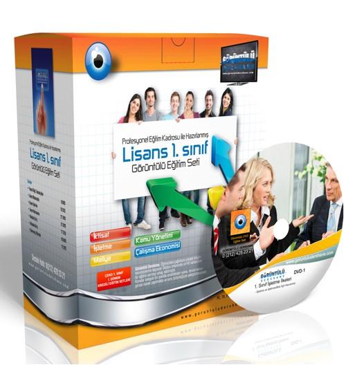 Açıköğretim İşletme 1. Sınıf 1. Dönem Tüm Dersler Görüntülü Eğitim Seti 59 DVD