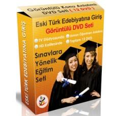 Eski Türk Edebiyatına Giriş Dersi Görüntülü DVD Seti