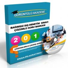 Bağımsız Dış Denetim Sınavı Çözümlü Soru Bankası + Çözümlü DVD Seti