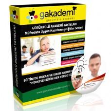 Bağımsız Dış Denetim Sınavı Görüntülü Eğitim Seti 47 DVD