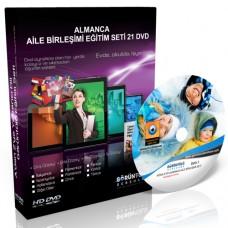 Almanca Aile Birleşimi Eğitim Seti 21 DVD