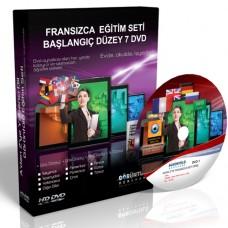 Fransızca Eğitim Seti Başlangıç Düzey Türkçe Anlatım 7 DVD
