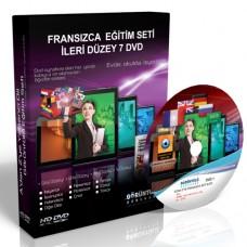 Fransızca Eğitim Seti İleri Düzey Türkçe Anlatım 7 DVD