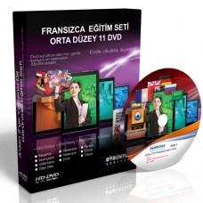 Fransızca Eğitim Seti Orta Düzey Türkçe Anlatım 11 DVD