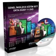 Genel İngilizce Görüntülü Eğitim Seti Orta Düzey 11 DVD