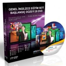Genel İngilizce Görüntülü Eğitim Seti Başlangıç Düzey 20 DVD