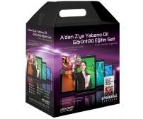 A'dan Z'ye İspanyolca Görüntülü Eğitim Seti Tüm Seviyeler 30 DVD