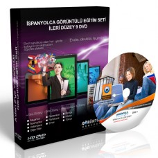 İspanyolca Görüntülü Eğitim Seti İleri Düzey 9 DVD