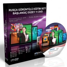 Rusça Eğitim Seti Başlangıç Düzey Türkçe Anlatım 11 DVD