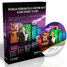Rusça Eğitim Seti İleri Düzey Türkçe Anlatım 5 DVD