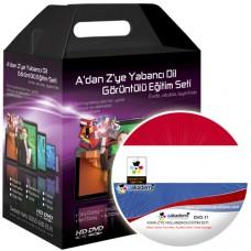 A'dan Z'ye Hollandaca Görüntülü Eğitim Seti