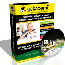 İmam Hatip 5. Sınıf Temel Dini Bilgiler Eğitim Seti 6 DVD