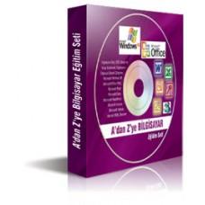 Adan Zye Bilgisayar Eğitim Seti (10 CD) (Türkiye de İlk)