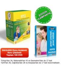 KPSS Eğitim Seti 120 DVD + Rehberlik Kitabı...