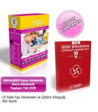 YGS Sınavına Hazırlık Seti 9 Ders 154 DVD ve YGS D...