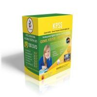 KPSS Genel Kültür Genel Yetenek Görüntülü Eğitim Seti 120 DVD + Rehberlik Kitabı