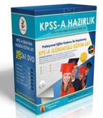 KPSS A Görüntülü Eğitim Seti+ Rehberlik Kitabı...