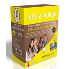 KPSS A Hukuk Görüntülü Eğitim Seti  + Rehberlik Kitabı