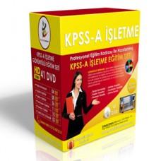KPSS-A Alan Bilgisi İşletme Eğitim Seti