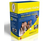 KPSS A Kamu Yönetimi Görüntülü Eğitim Seti+ Rehberlik Kitabı