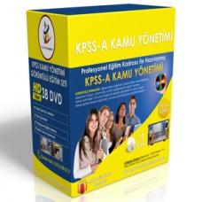 KPSS A Kamu Yönetimi Görüntülü Eğitim Seti + Rehberlik Kitabı